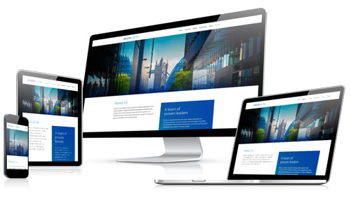 responsive website design triforcesa